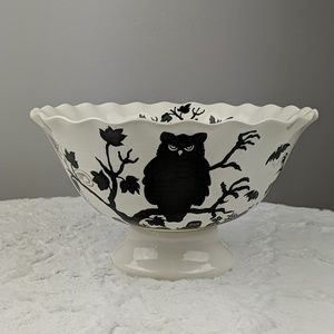 Blhouettes by Maxcera Halloween Fall Bowl
